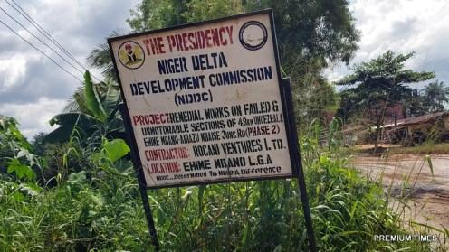Umuezeala road in Ehime Mbano LGA.1
