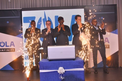 Global Chief Executive Officer, ZOLA Electric, Mr. Bill Lenihan delivering his presentation at the ZOLA Electric Nigeria Customer Launch event held in Lagos recently.