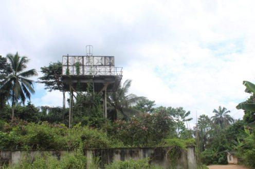 Abandoned solar-powered project at Ikot Udo Etor