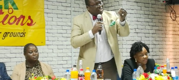 Dr Francis Faduyile, National President, Nigeria Medical Association (NMA) at a symposium by Health Writers Association of Nigeria (HEWAN) in Lagos.