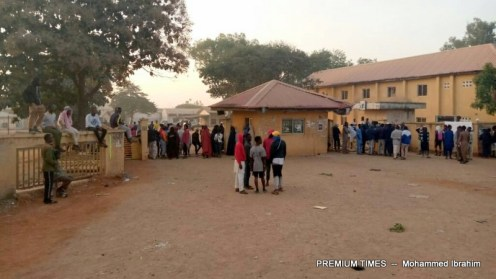 Students Protest in Zaria