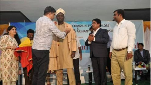 Ali Nuhu honoured in India