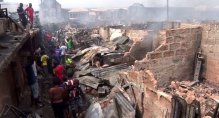 Anambra-Market Fire (Photo: Channels Tv)