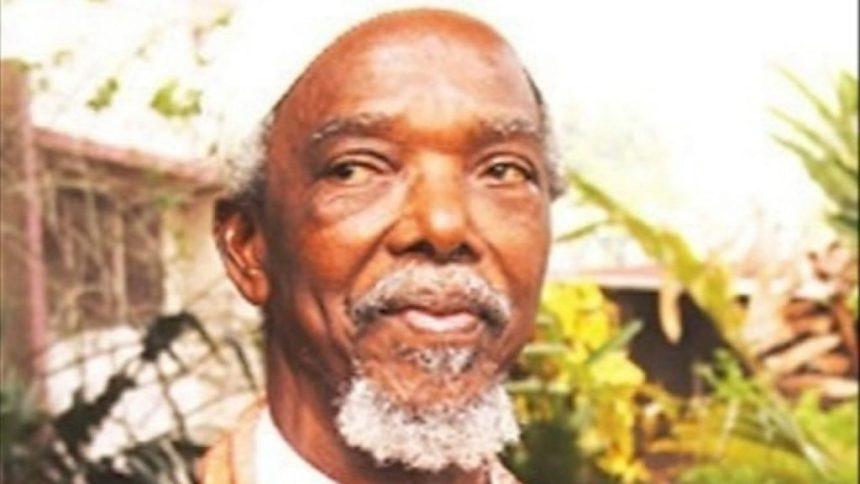 Renowned Nigerian novelist and traditional ruler of Ndikelionwu, Anambra State, Chukwuemeka Ike.