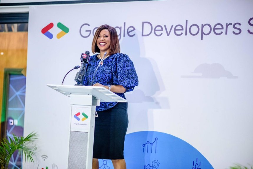 Google Country Director, Juliet Ehimuan at the launch