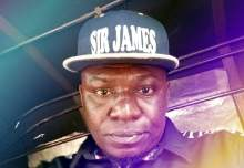 Sir James, a popular stand up comedian in Akwa Ibom state.