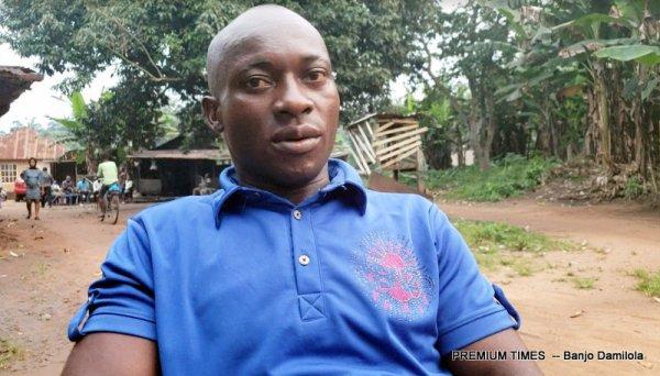 John Prosper, the youth leader of Obile autonomous community