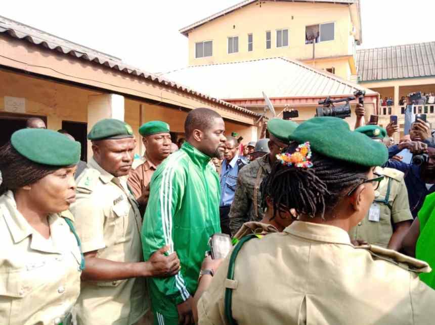 Alfa Babalola(Sotitobire) at the court on Friday