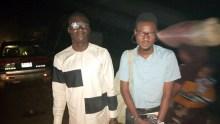 Premium Times Journalist, Alfred Olufemi and Kabir Adejumo.
