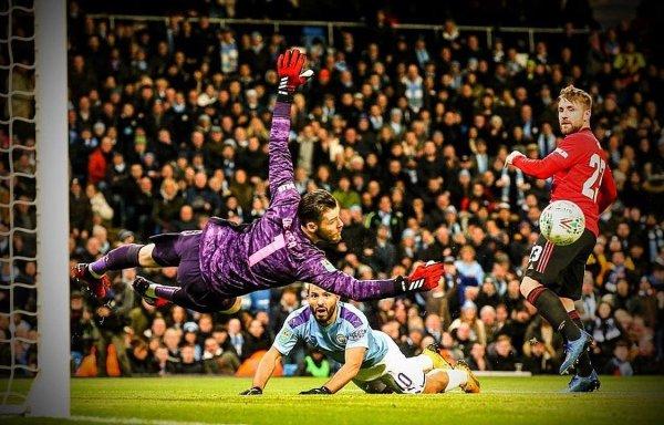 The goal Man U scored against Man City