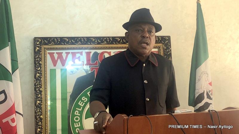 PDP national chairman, Uche Secondus.