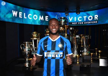 Victor Moses at Inter Milan