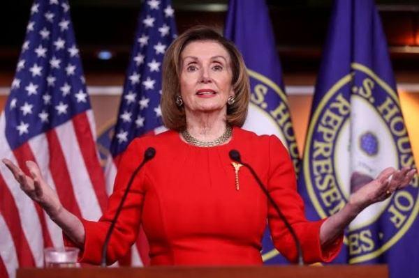 Nancy Pelosi. [PHOTO CREDIT: Washington Post]