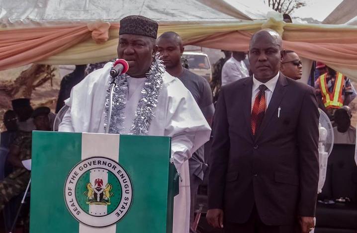 Gov. Ifeanyi Ugwanyi of Enugu State