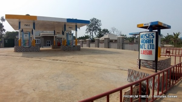 Filling stations in Ajassor shut down in compliance with the government's directive