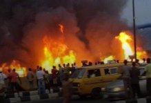 Pipeline fire in Abule Egba,