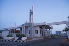 University of Abuja main entrance [[Photo: University Website]