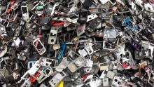 e-waste used to tell the story. [PHOTO CREDIT: Al jazeera]