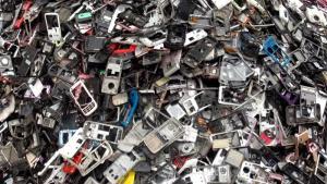 e-waste used to tell the story. [PHOTO CREDIT: Al jazeera]