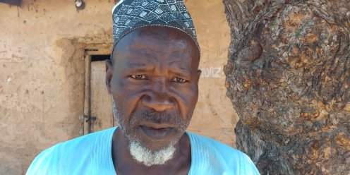 A trader, Muhammadu Shekarau, resident of Modobi community in Dutse Local Government Area, Jigawa State.