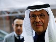 Saudi Arabia's Minister of Energy Prince Abdulaziz bin Salman Al-Saud arrives at the OPEC headquarters in Vienna, Austria Dec. 6, 2019.