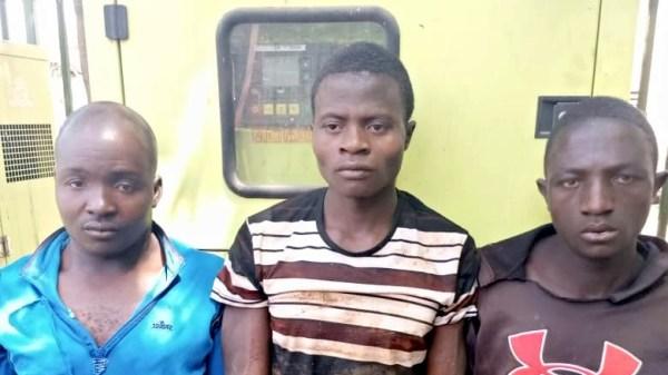THREE ANSARU TERROR GROUP MEMBERS FINGER IN ATTEMPT KIDNAP OF EMIR ARRESTED