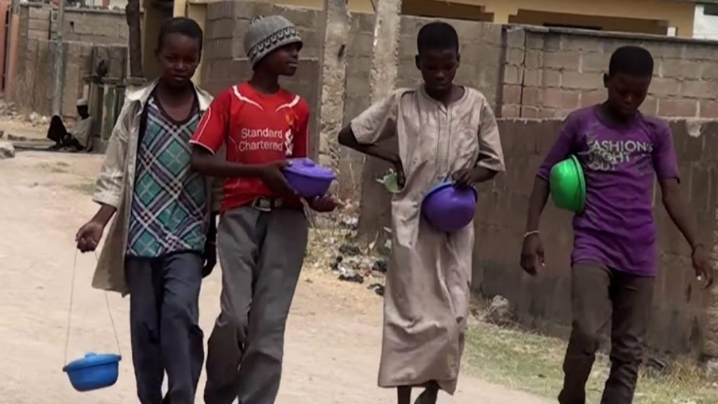 Image result for picture of Almajiri beggars
