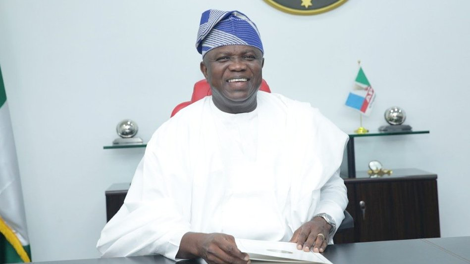 Former Lagos state governor, Akinwumi Ambode. [PHOTO CREDIT: Official Twitter handle of Ambode]