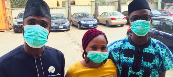 Nigerians wearing face mask since the first case of Coronavirus hit the country.