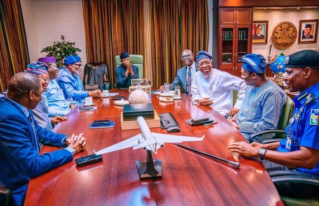 Amotekun: South West Governors, IGP agree on state-based arrangement; shelve regional plan - Premium Times