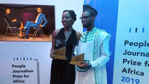 Award-winning journalist donates cash prize to release of inmates