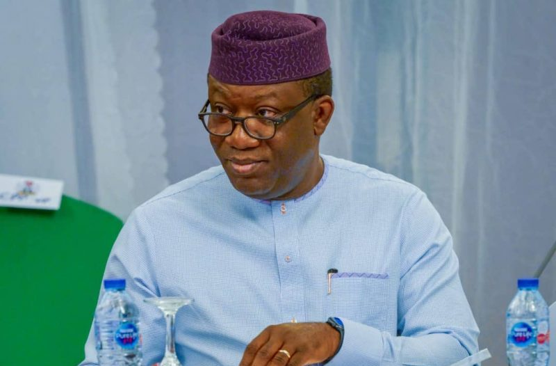 The Governor of Ekiti State, Kayode Fayemi