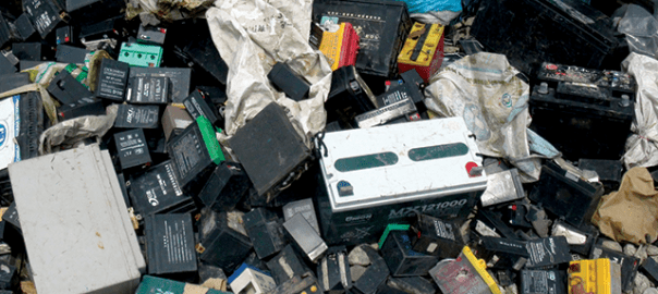 Used Lead batteries [Photo: EarthMagazine.org]