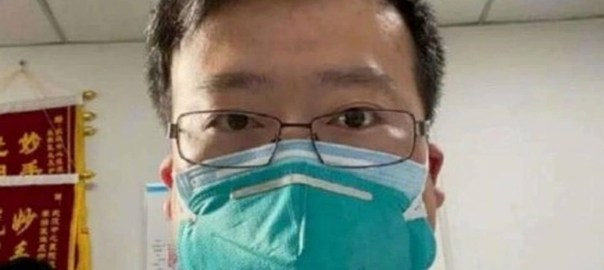 Li Wenliang, a 34-year-old ophthalmologist. [PHOTO CREDIT: Washingtonpost]