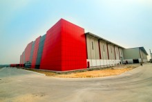 The Ariel Foods facility constructed in Alaro City.