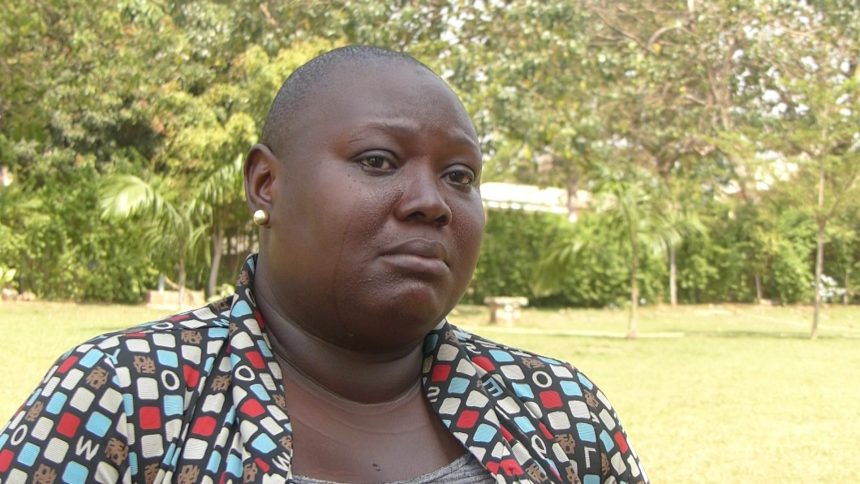 Gloria Onumegu, a Breast cancer patient
