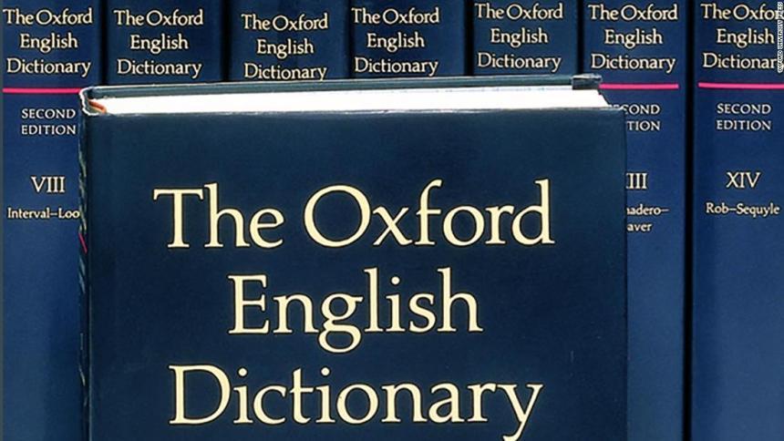 Oxford english dictionary [Photo: CNN]