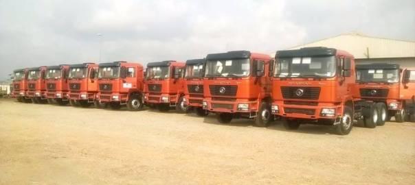ANAMMCO trucks [Photo: Nairametrics]
