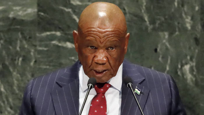 Lesotho PM Thomas Thabane, Resigns Over Alleged Involvement In Murder Of Estranged Wife
