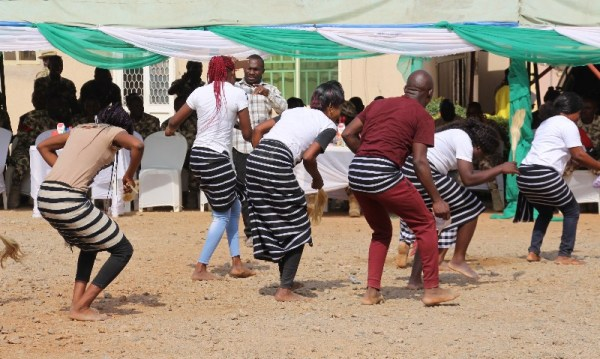 Tiv cultural dance truope entertaining