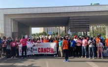 Cancer Awareness Group march to raise awareness on early screening