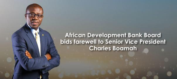 outgoing Senior Vice President, Charles Boamah.