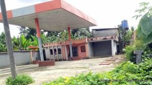 Abandoned filling station on Ohanku road
