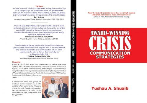Book Cover Award-Winning Crisis Communication Strategies
