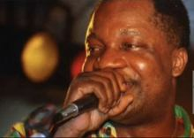 Congolese music legend, Aurlus Mabélé. [PHOTO CREDIT: Vanguard]