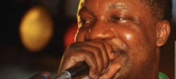Congolese music legend, Aurlus Mabélé. [PHOTO CREDIT: Vanguard]