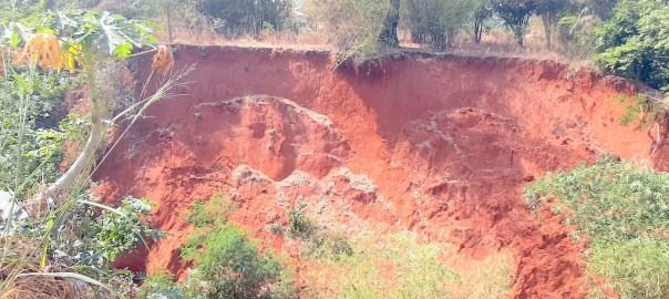 Erosion affected area in Enuagu village, Enugwu Ukwu (2)