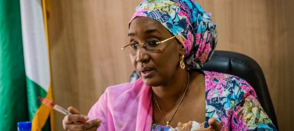 Sadiya Umar-Farouq [PHOTO: Vanguard]