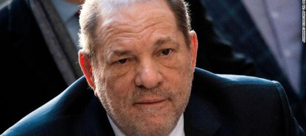 American film producer, Harvey Weinstein. [PHOTO CREDIT: CNN]
