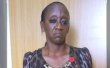 Convicted former Deputy Chief Registrar of the Oyo State High Court, Mutiat Adio.
